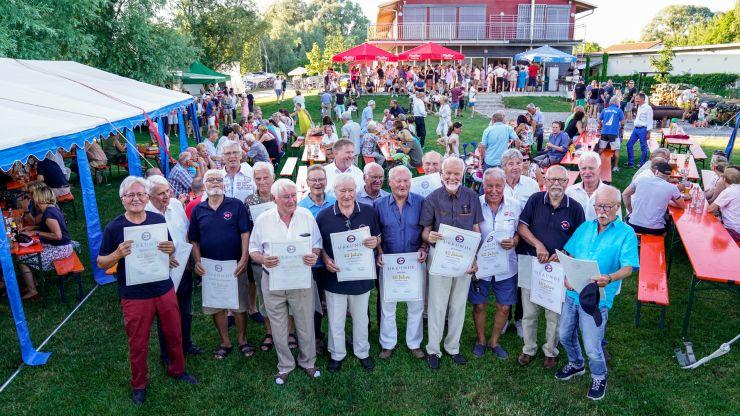 Sommerfest zum 40-jährigen Gründungsjubiläum des Wassersportclubs Wäschbruck WWRa